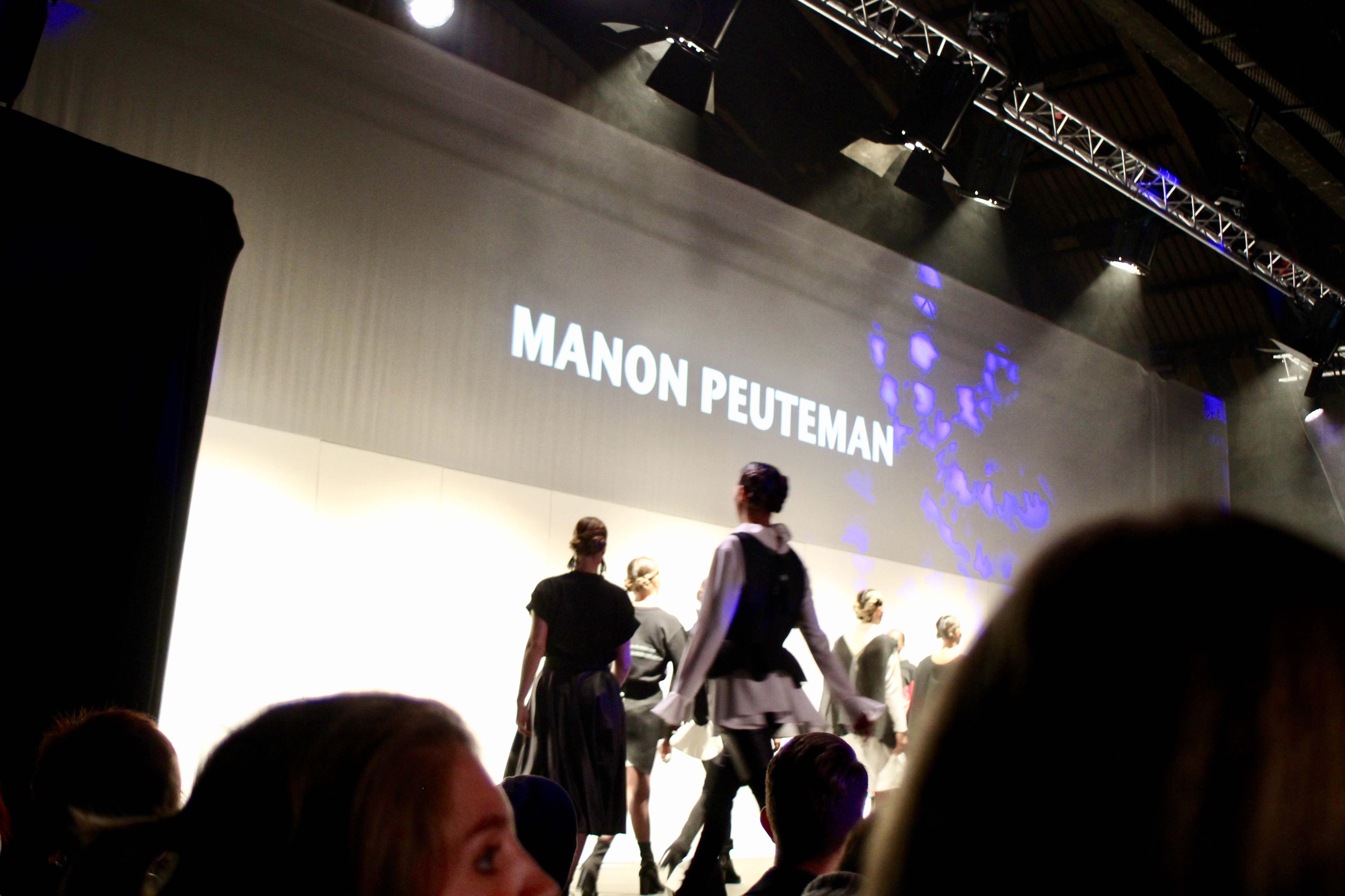 lux fashion week - Manon Pauteman