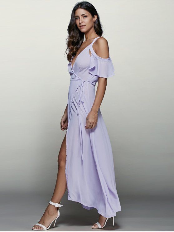 Purple Maxi Zaful Dress