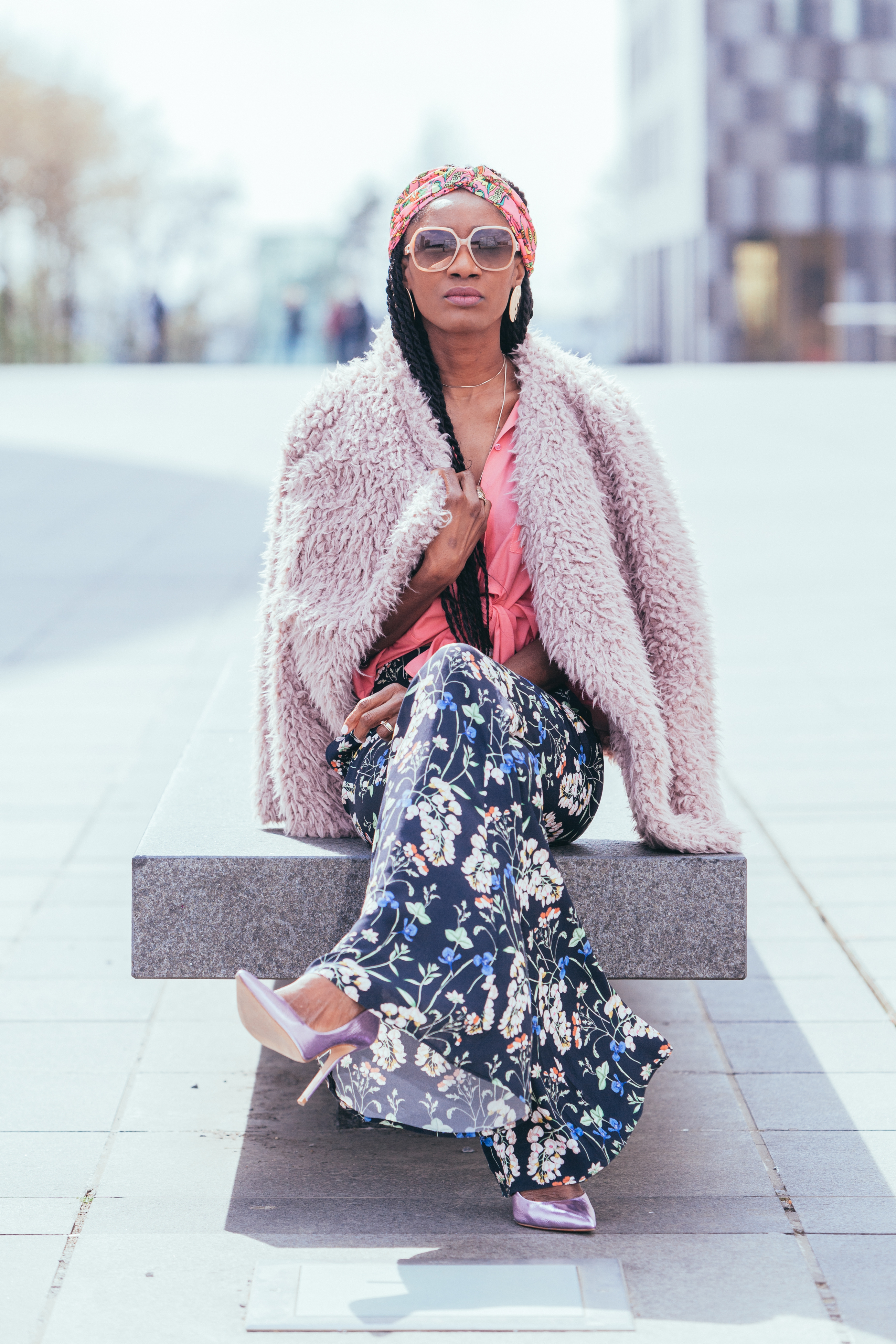 Floral pants spring style