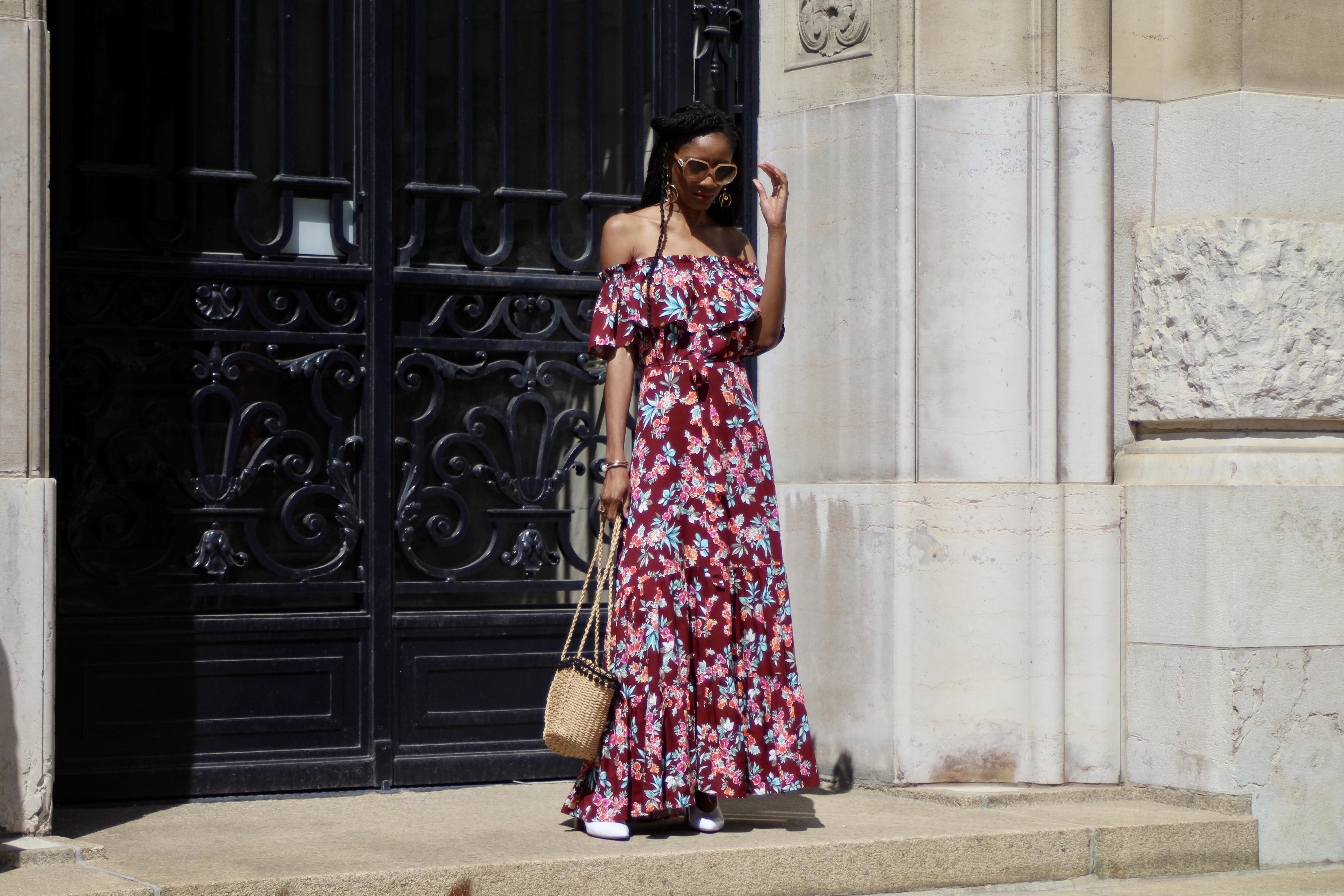 Zaful floral dress