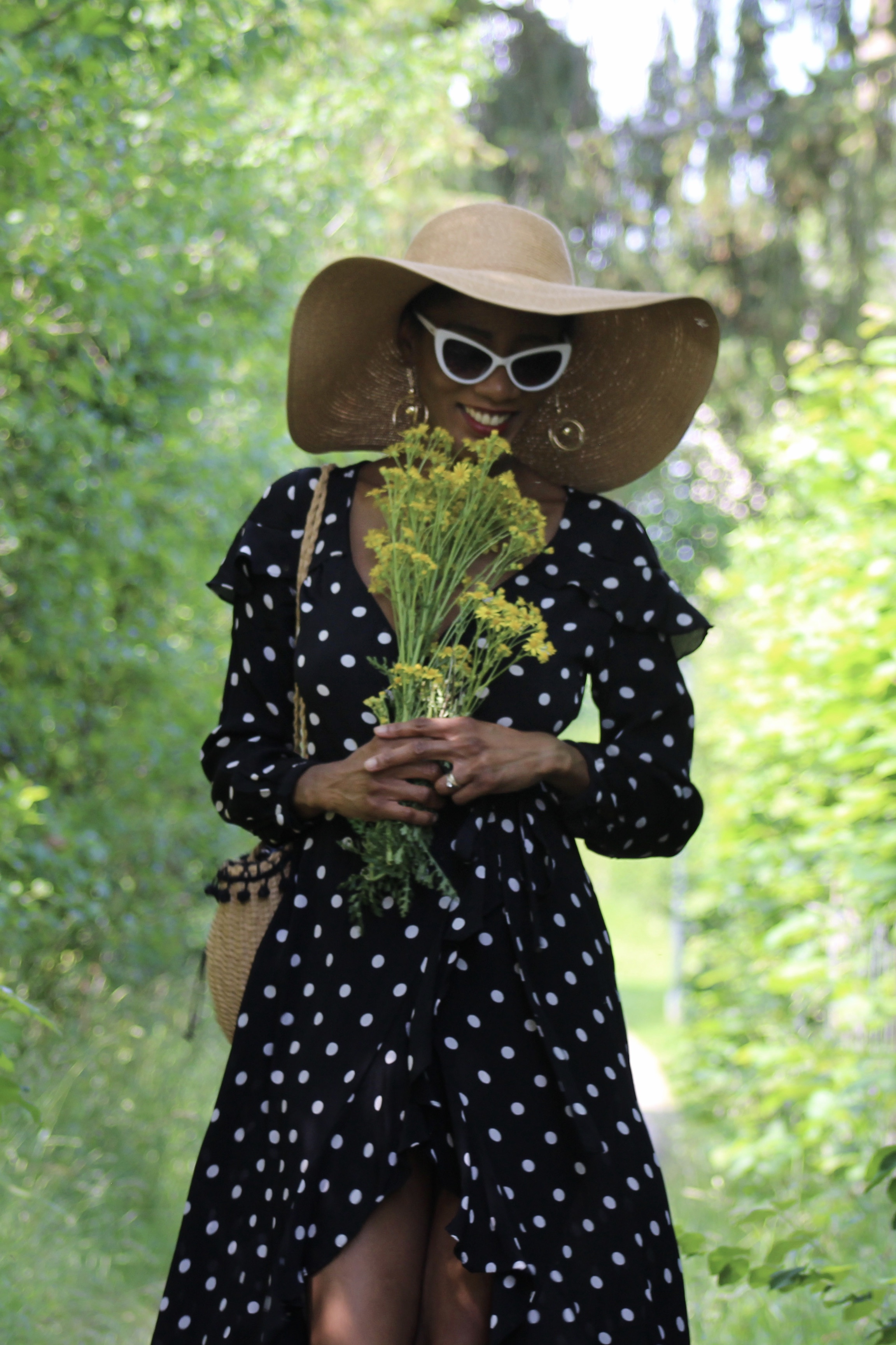 polka dots dress summer