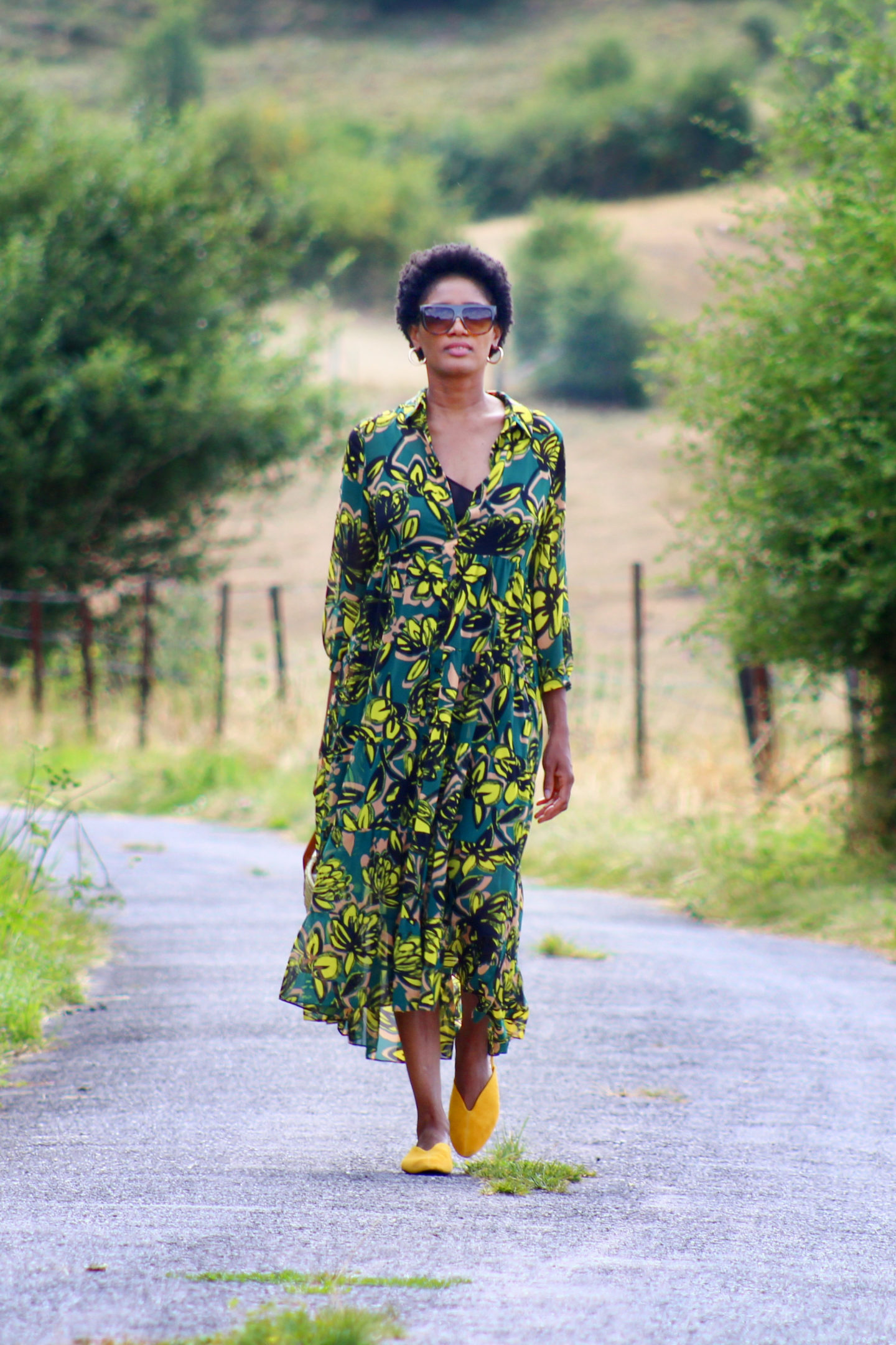floral green dress summer 2019 looks